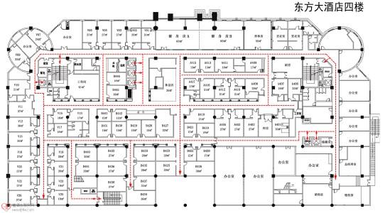 武漢東方酒店消防工程施工方案